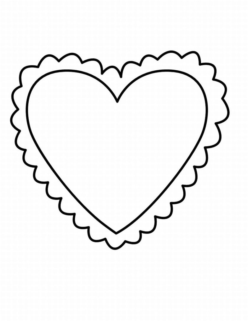 Heart Coloring Pages 2 Coloring Pages To Print Heart Coloring Pages Valentine Coloring Pages Shape Coloring Pages