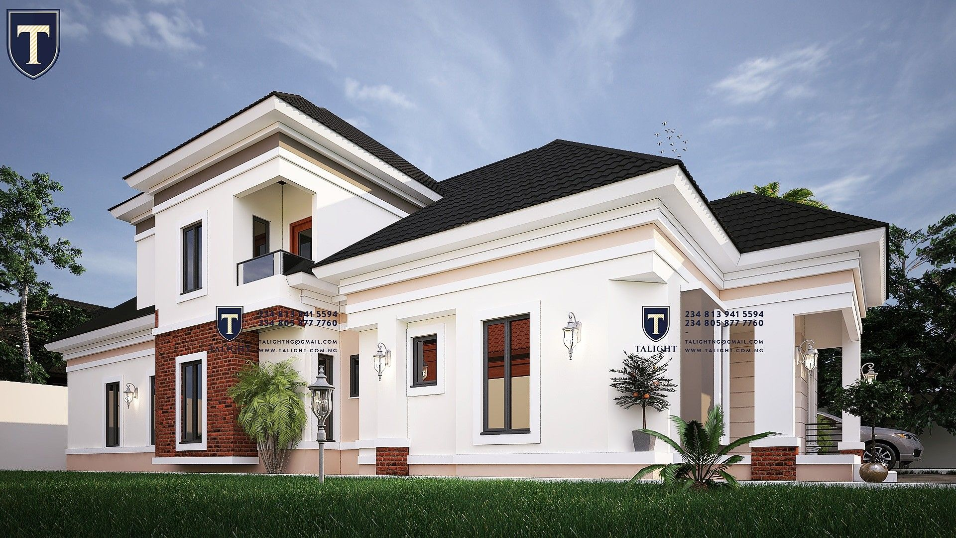 Pin on Four Bedroom bungalow in Nigeria