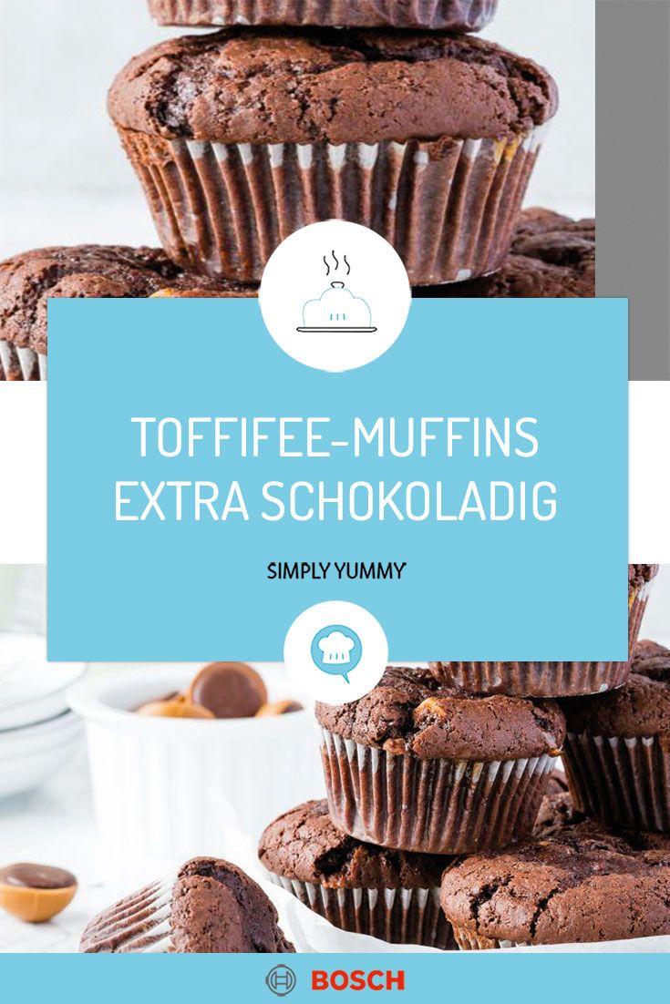 Toffifee-Muffins mit ganz viel Schokolade
