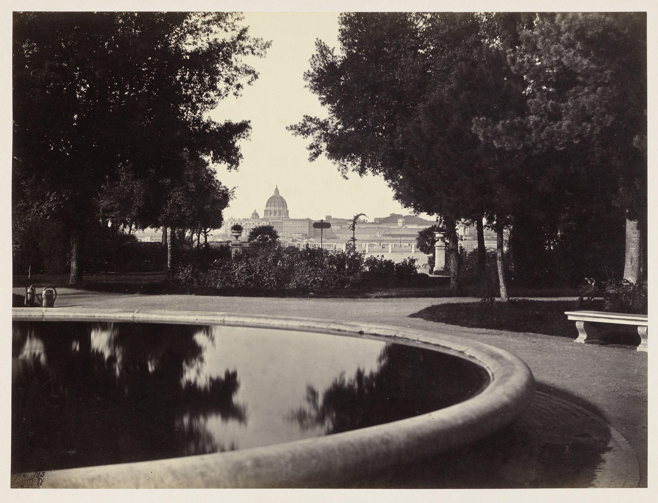 Robert Macpherson, View on Rome from Monte Pincio, 1860-1863