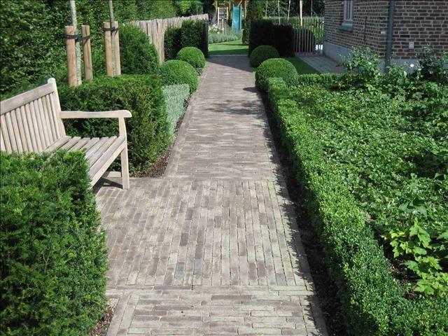 Esterno Tuinen  Villatuin te Tielen ogród garden Pinterest