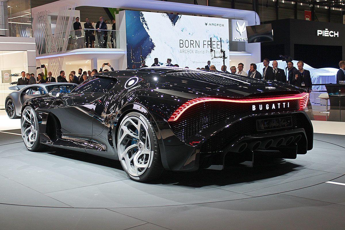 """Bugatti """"La Voiture Noire"""" (2019) Schöne sportwagen"""