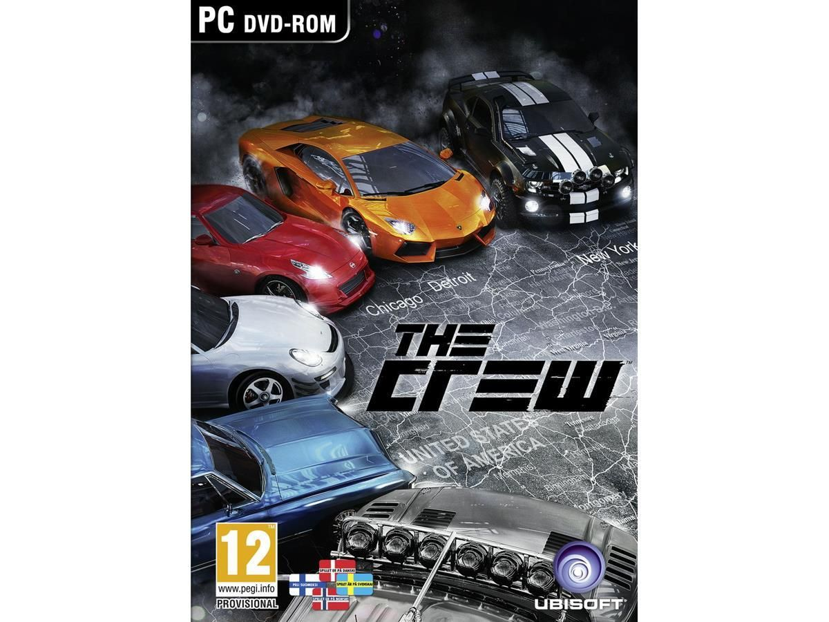 The Crew Ps4 games, Playstation, Xbox one games