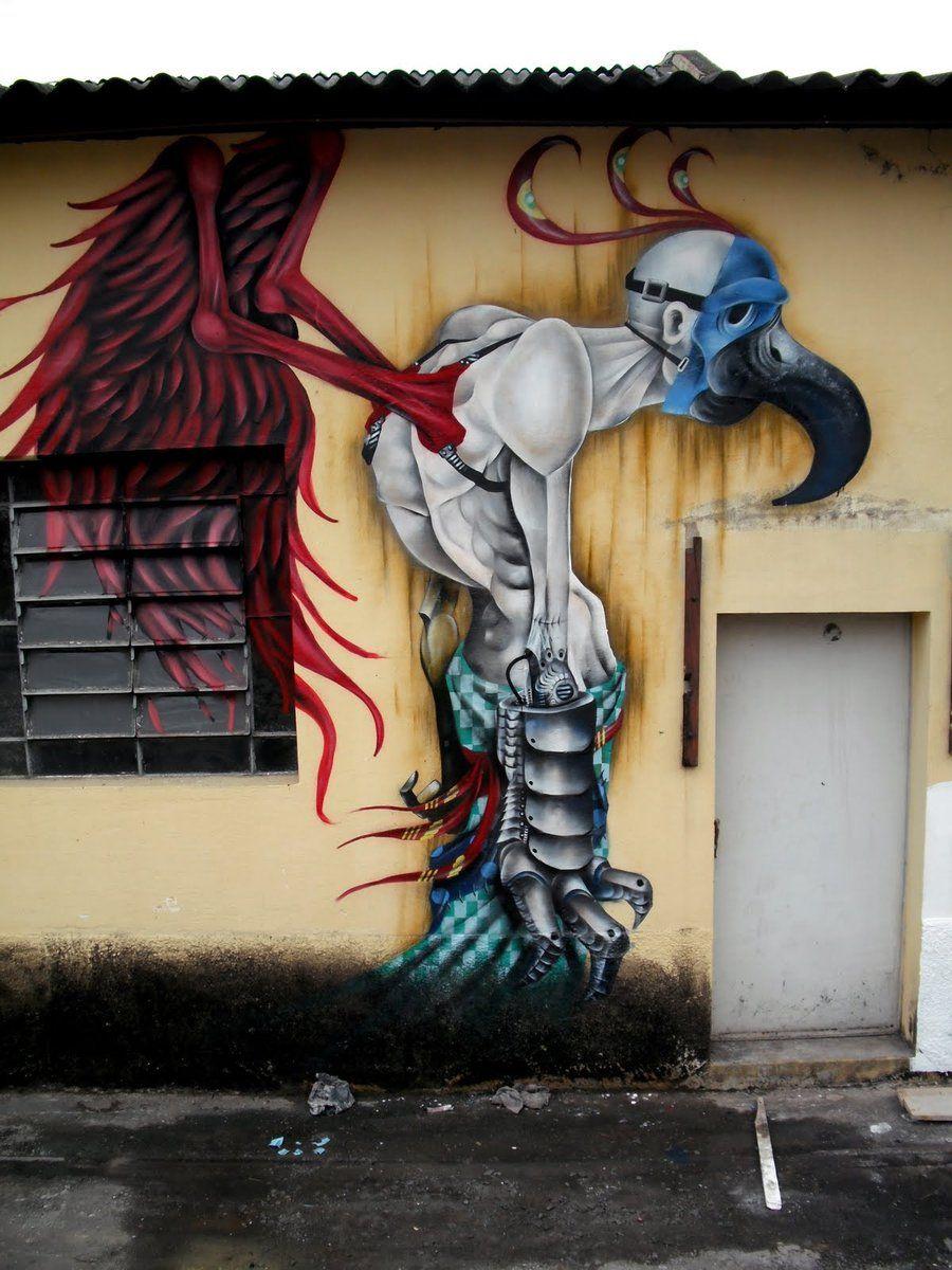Graffiti art animals - Nameless By Splook69 Art Animals Graffiti
