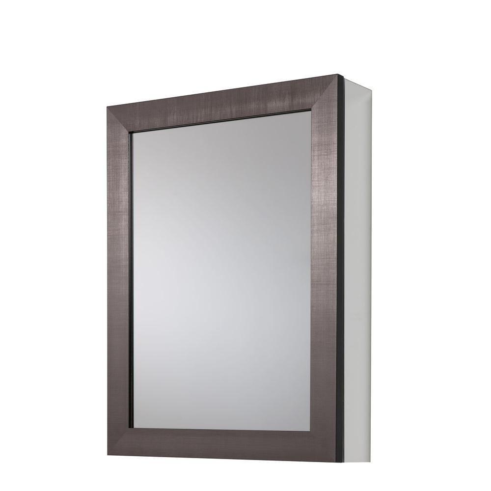 Glacier Bay 20 In X 26 In Framed Aluminum Recessed Or