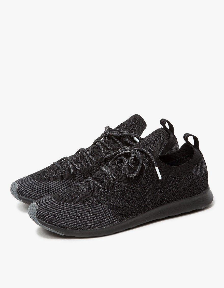Native Shoes / Apollo Nova Liteknit in Jiffy Black