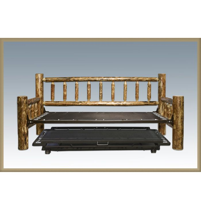 Montana Woodworks Glacier Country Trundle Bed Day Bed