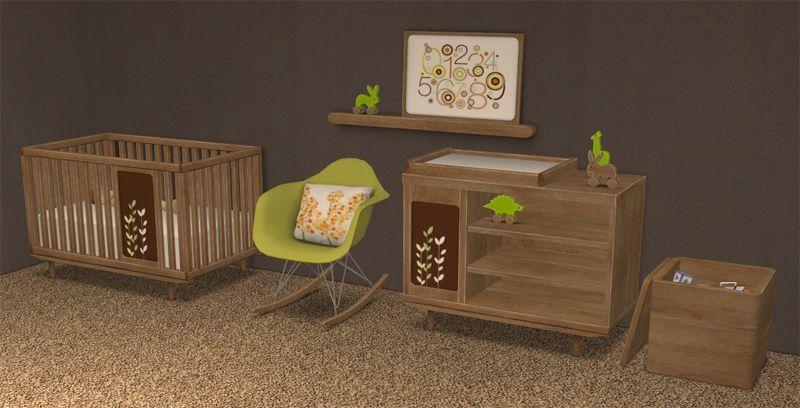 SIMS 2 BB Oh Baby! Nursery Set - Downloads - BPS Community | Sims, Nursery Set, Sims 2