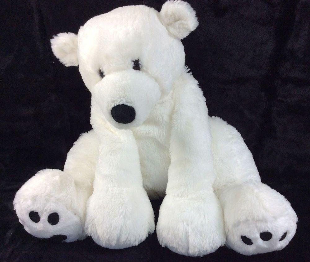 Unicorn Teddy Bear Toys R Us, Toys R Us White Polar Bear Large Plush Stuffed Animal 21 Toysrus White Polar Bear Teddy Bear Plush Animals