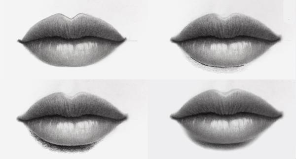 Aprende Como Dibujar Labios A Lapiz Realista Dibujos De Labios Como Dibujar Labios Labios