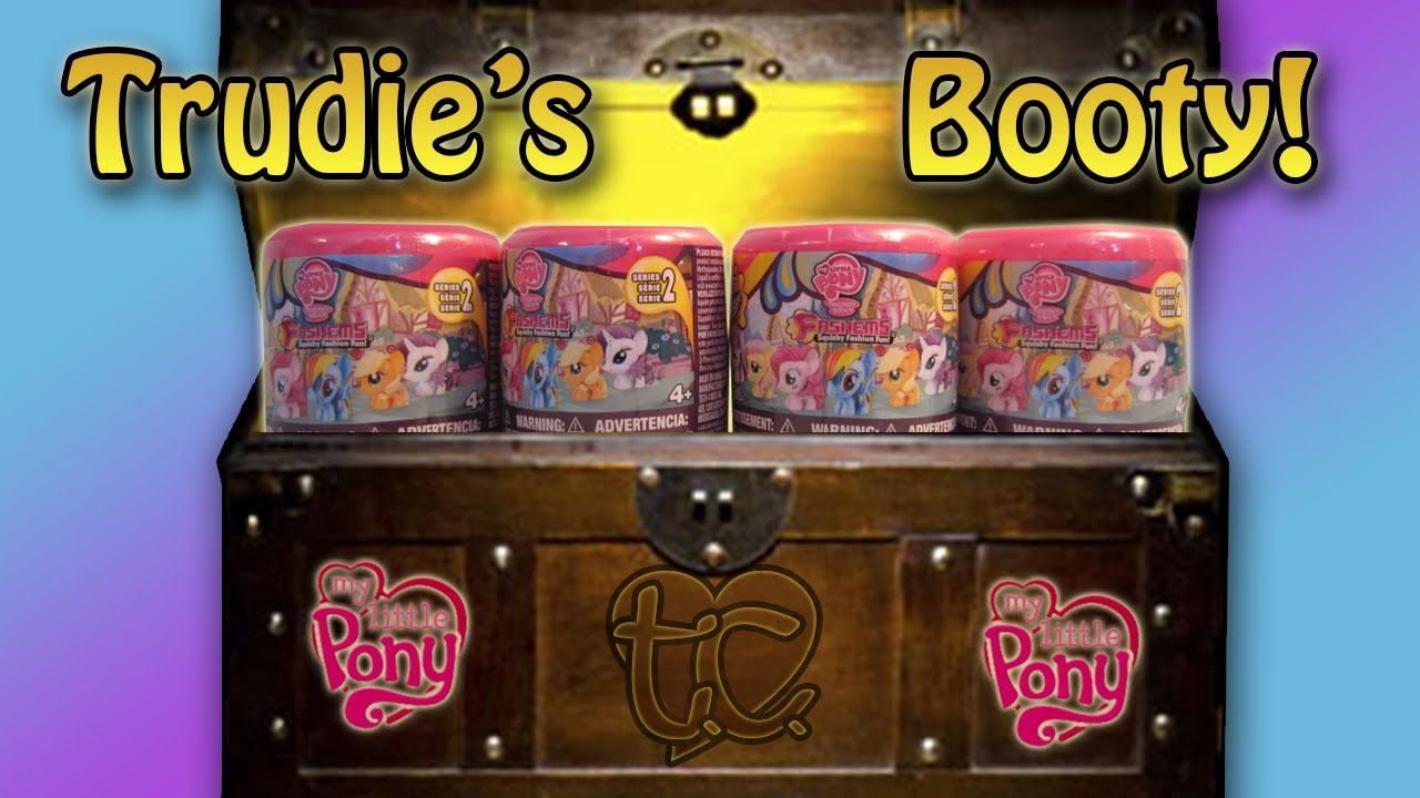 MY LITTLE PONY FASHEMS! Trudie Booty!