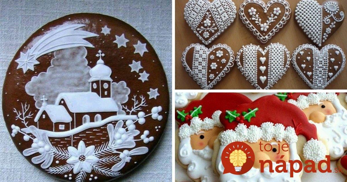 Toto sú najkrajšie vianočné medovníčky z našich domácností: Potešte sa pohľadom na toľkú krásu!