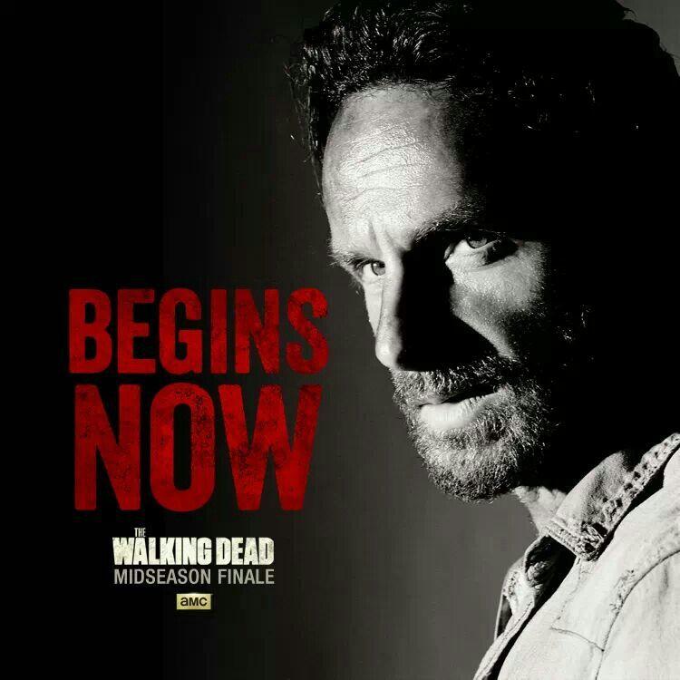The Walking Dead. Midseason finale.