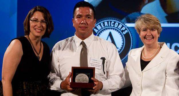 Playworks Coach Luciano Mondolo was awarded 2012 ...