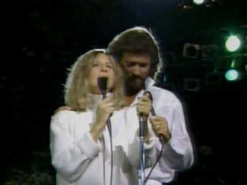 Bee Gees - Barbra Streisand & Barry Gibb - What Kind Of Fool.mpg