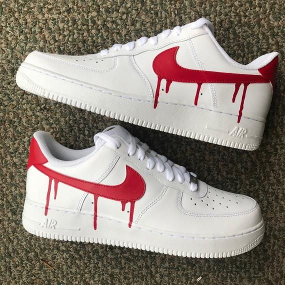 Customized air force 1 white I can