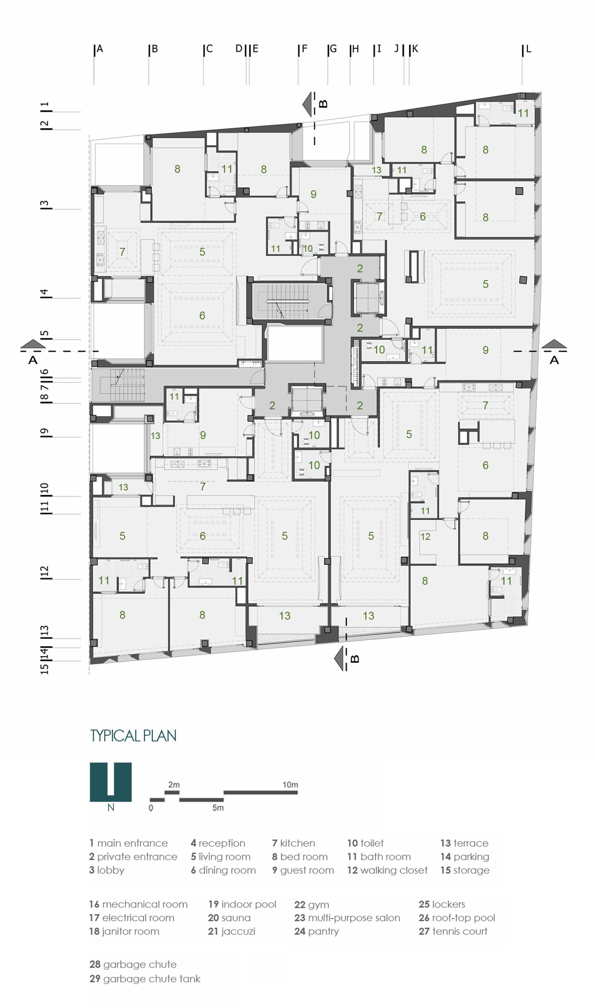 Gallery Of Sipan Residential Building Ryra Studio