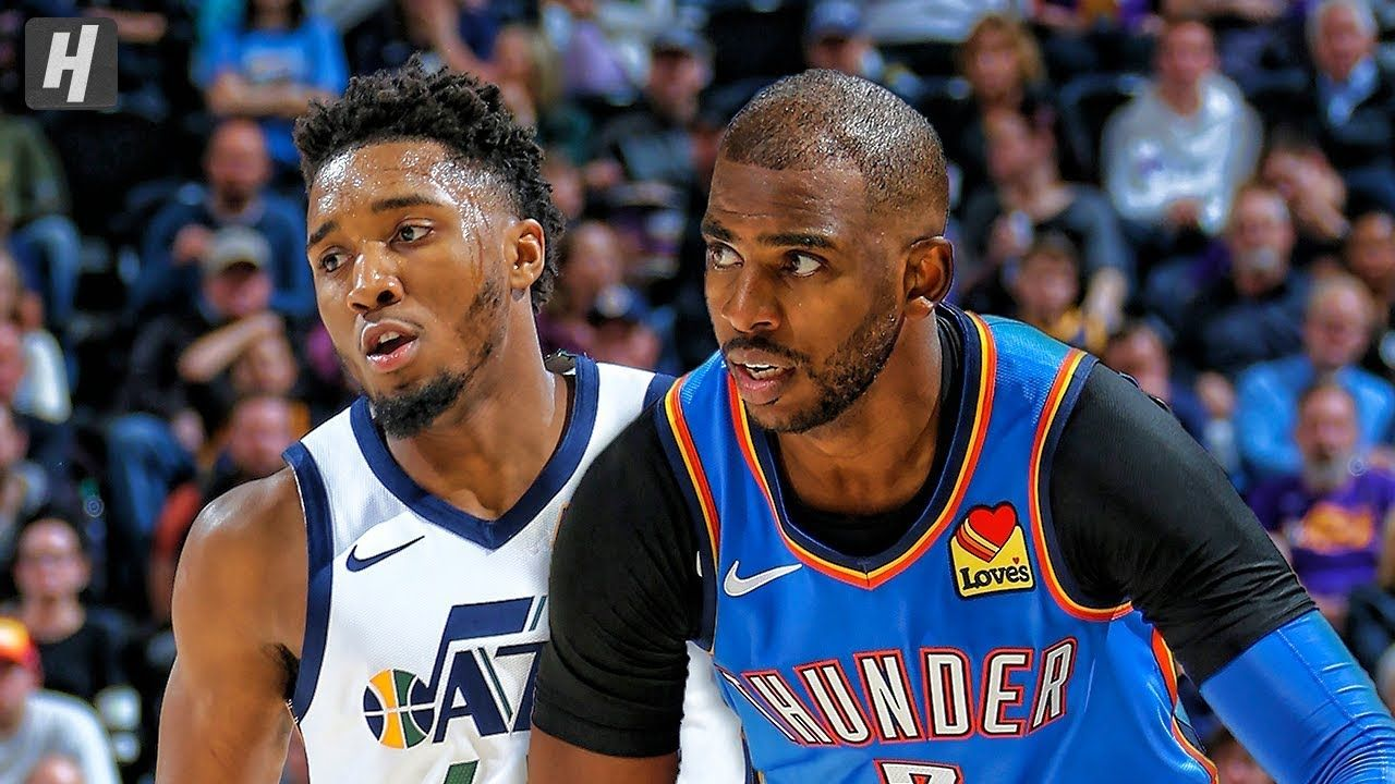 Oklahoma City Thunder Vs Utah Jazz Full Game Highlights October 23 In 2020 Oklahoma City Thunder Utah Jazz Thunder Nba