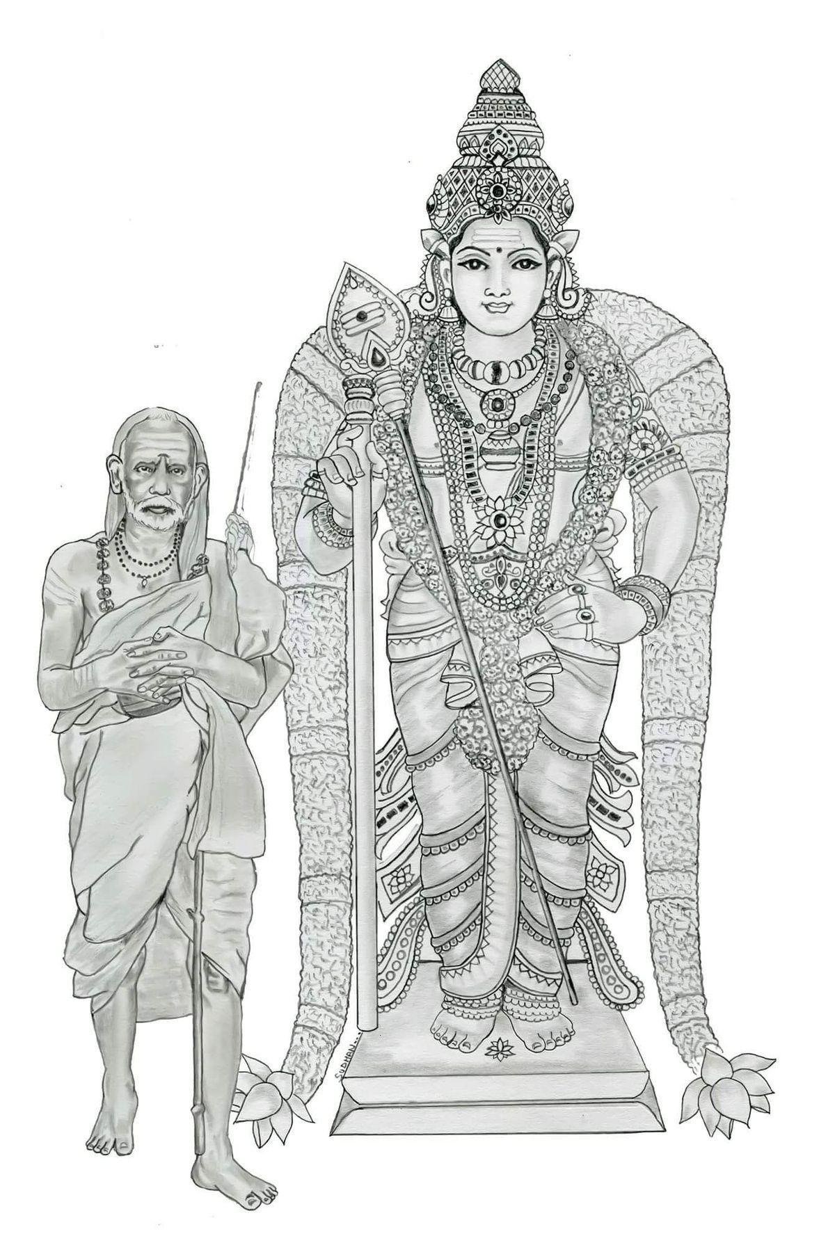Kanchi kamakshi gods in 2019 lord murugan hindu art lord