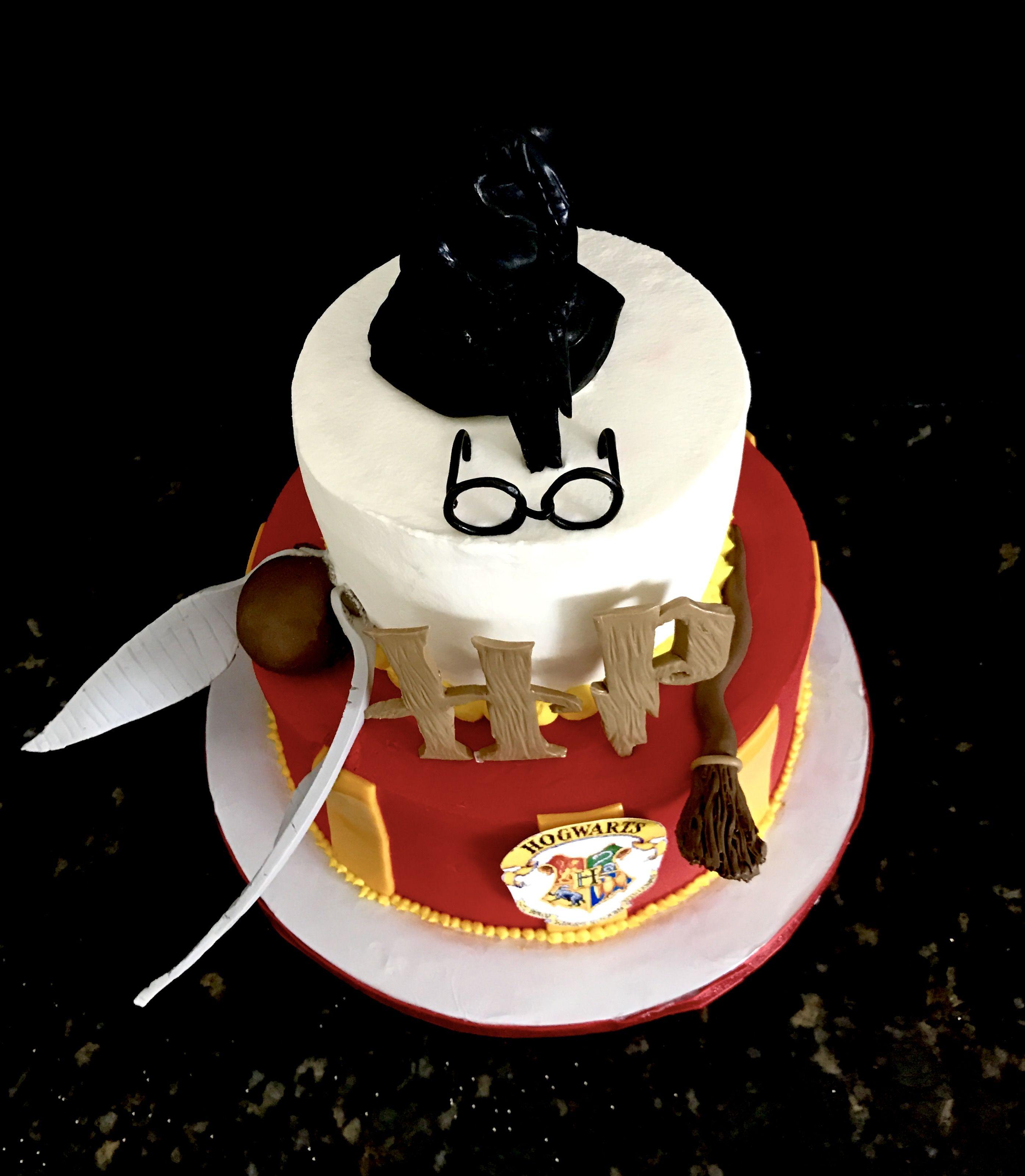Harry Potter themed Happy Birthday Cake Sweet Blessings Custom
