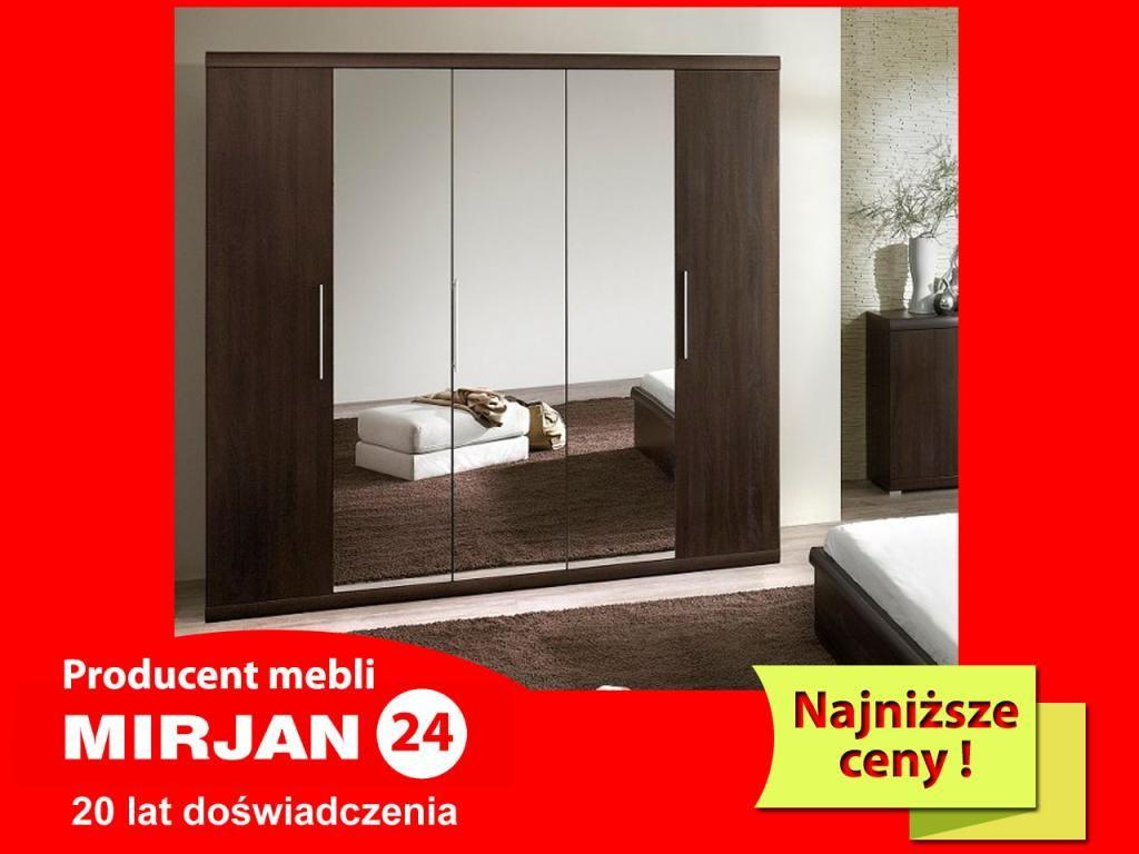 Szafa Garderoba Z Lustrem Mestre 21 Dostawa Gratis With Images