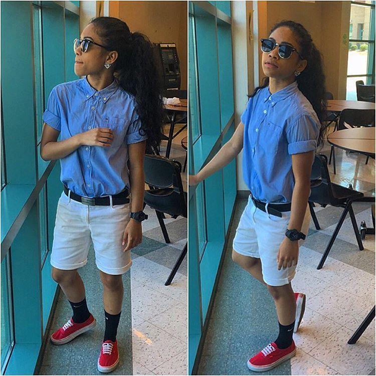 Tomboy Outfits Fashion Lesbian Dope Killa Casual Boyish Style Summer