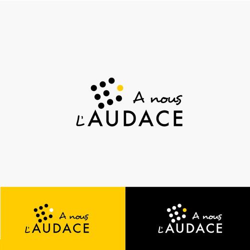 A NOUS L'AUDACE �20Créer un logo qui incite à OSER -> A Nous l'Audace // Audacity