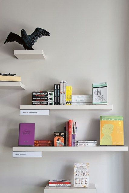 Shelf Improvement | Just love, Bookshelf ideas and Design