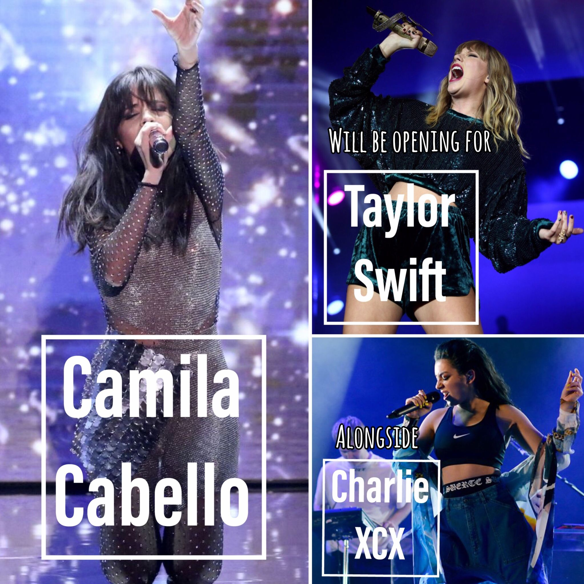 Camilizers!!!Taylor Swift Confirms Camila Cabello and Charli