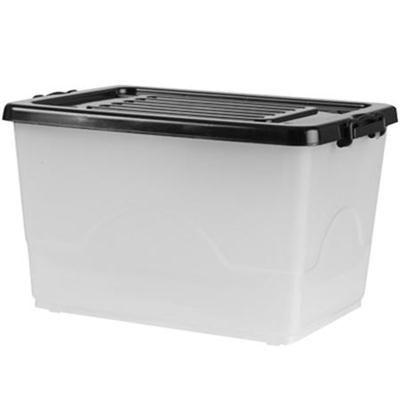 Homemaker 53 Litre Storage Tub With Lid Kmart 8 Storage Tubs