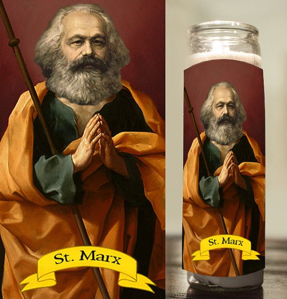 Karl Marx Prayer Candle Communist Saint Candle Communism Etsy Prayer Candles Saint Candles Colorful Candles