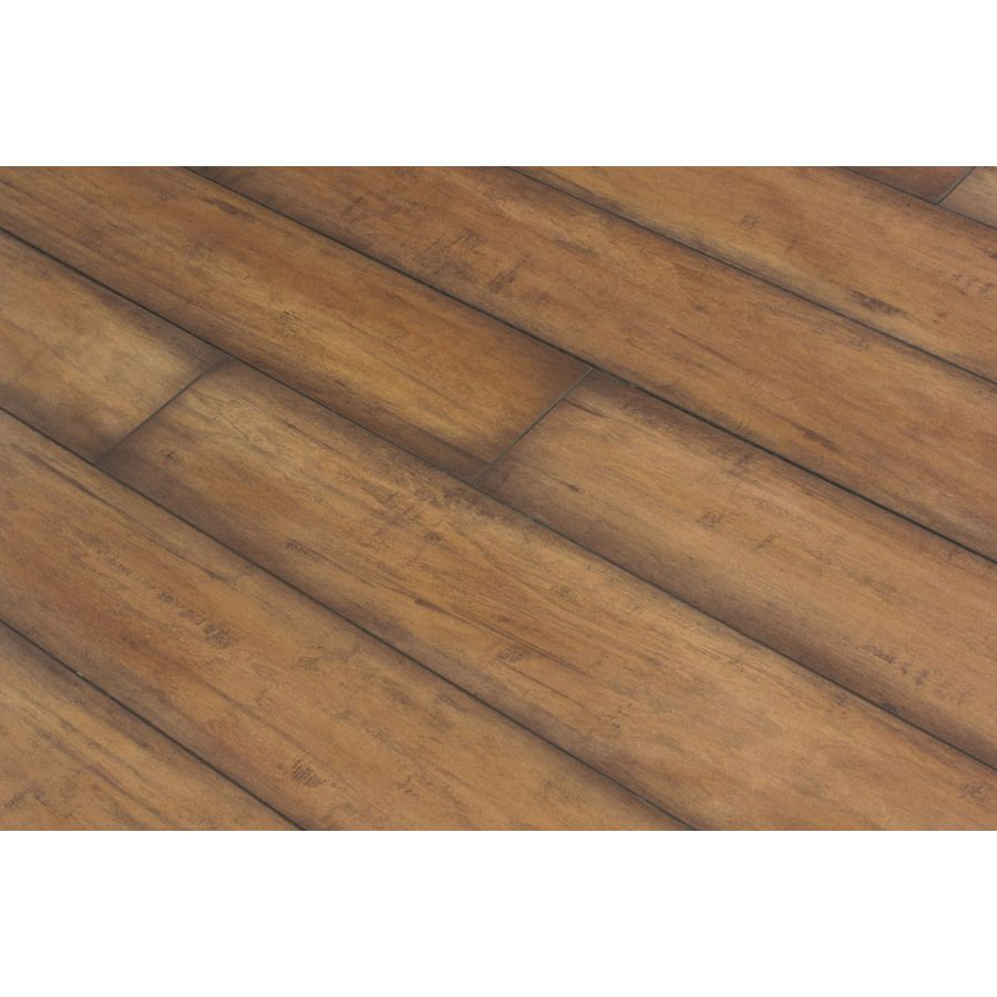 Shop Allen Roth 4 92 In W X 3 97 Ft L Burnished Autumn Maple Smooth Laminate Wood Planks At Lowes Com Wood Laminate Lowes Home Improvements Wood Planks