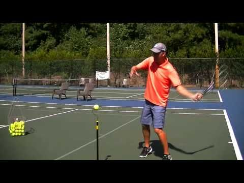 Forehand Tennis Lesson Topspin Forehand Acceleration Timing Youtube Tennis Lessons Tennis Workout Tennis