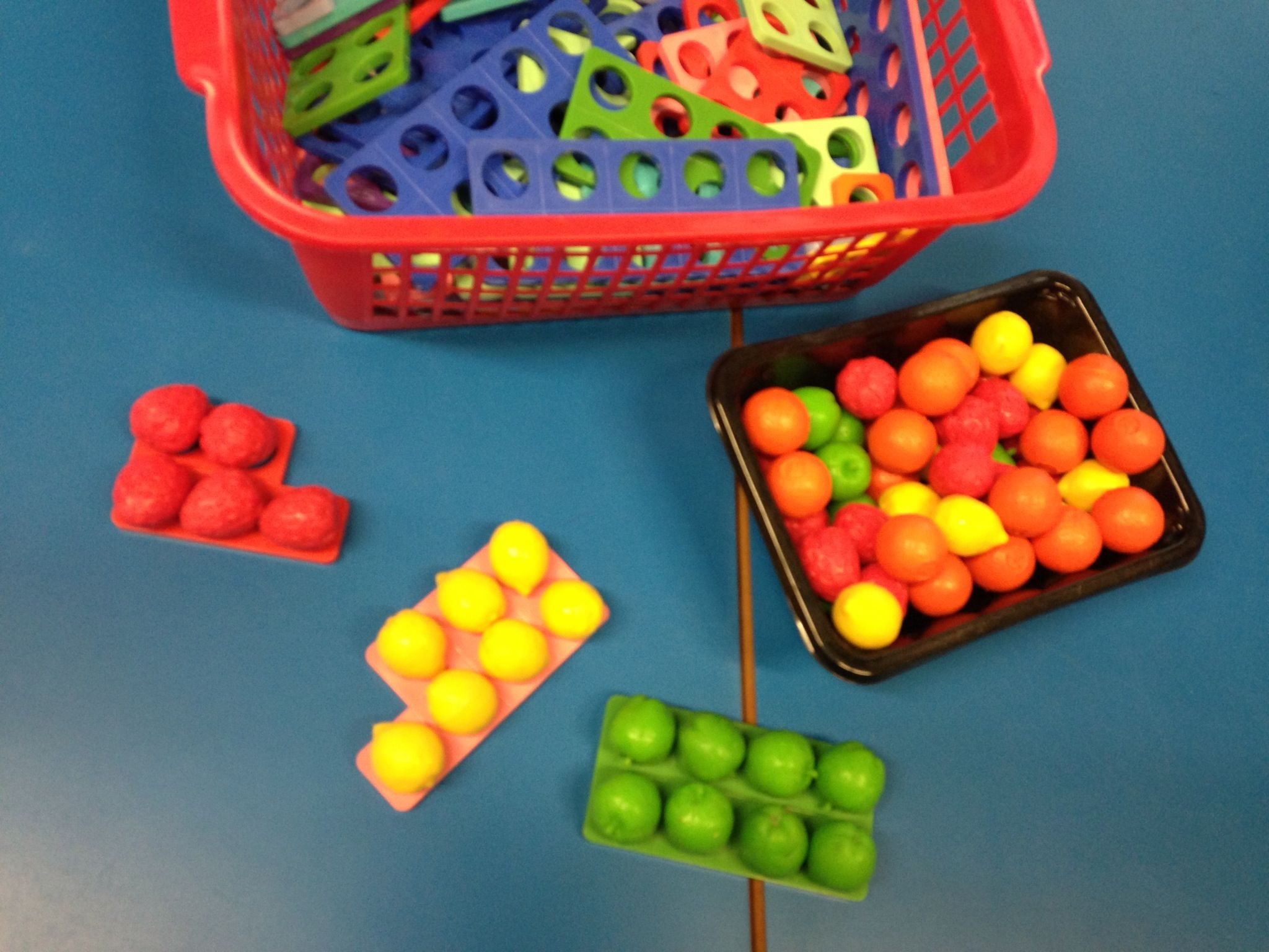 Numicon Plus Fruit A Fun Counting Activity