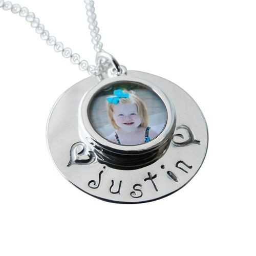<3 #love #mom Photo Charm  Necklace from Personal Creations on Catalog Spree, my personal digital mall.