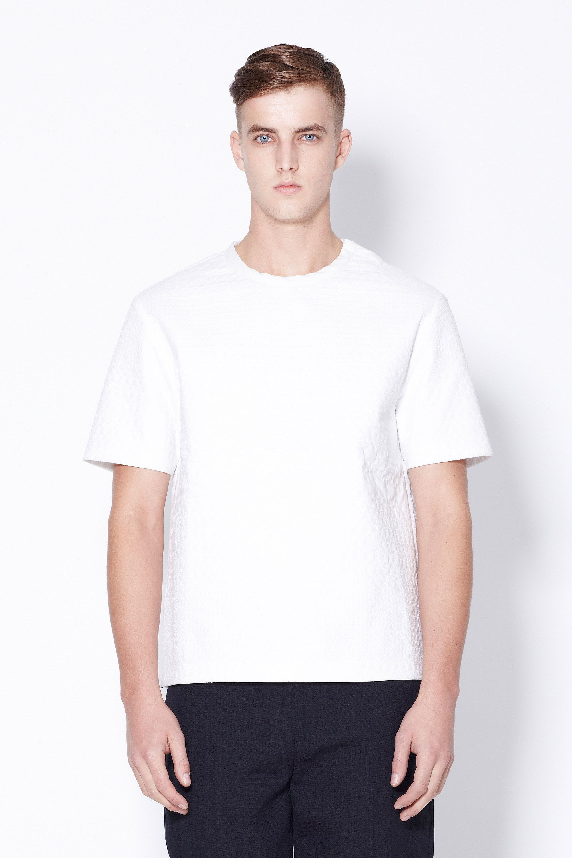 Phillip Lim Hounds Tooth Quilted T Shirt Phillip Lim Online Shop