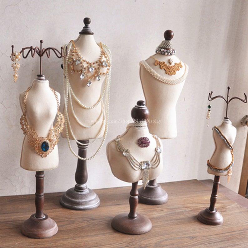 Mannequin Hand Finger Jewelry Bracelet Necklace Stand Holder Rack Display Magideal