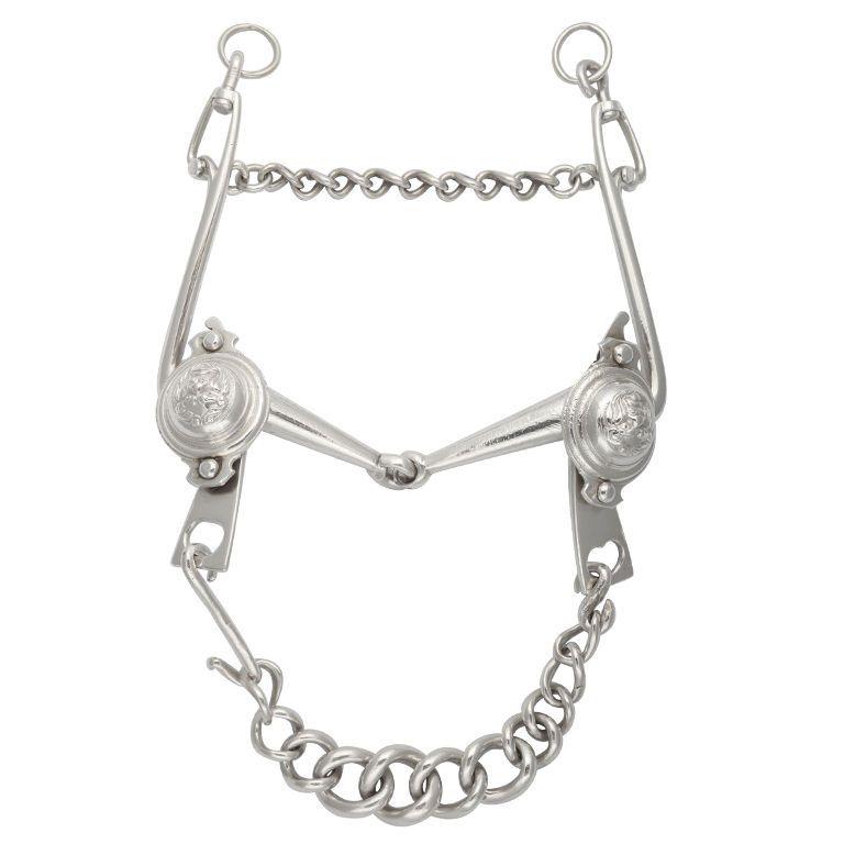 Queen Anne Period Britannia Standard Silver Horse's Bit
