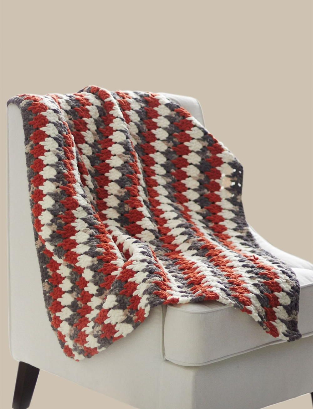 Larksfoot Crochet Blanket | Sofá, Manta y Camas