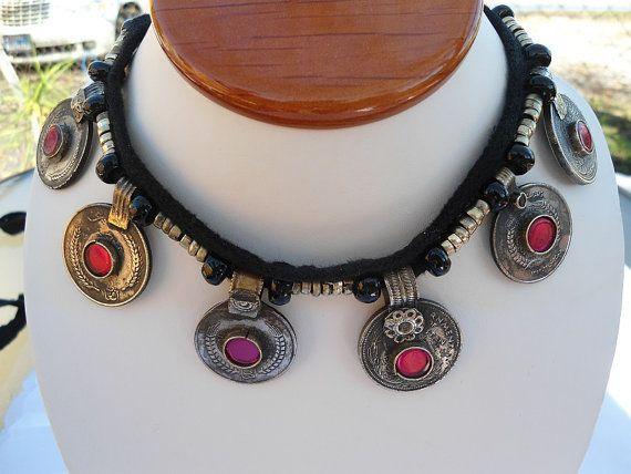 SALE GYPSY DIVA Necklace Middle Eastern Belly Dance by Nezihe1, $22.99