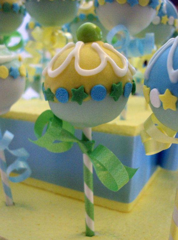 Baby Rattle Cake Pops Baby Shower Ideas Pinterest