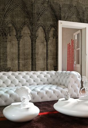 classical wallpaper from wall & deco italia