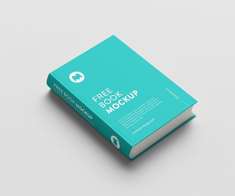 Free Thick Book Mockup Mockups Design Free Mockup Book Clean Book Book Cover Mockup