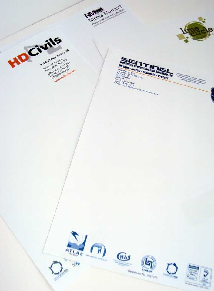 Letterheads from small to large format printing printing letterheads from small to large format printing spiritdancerdesigns Gallery