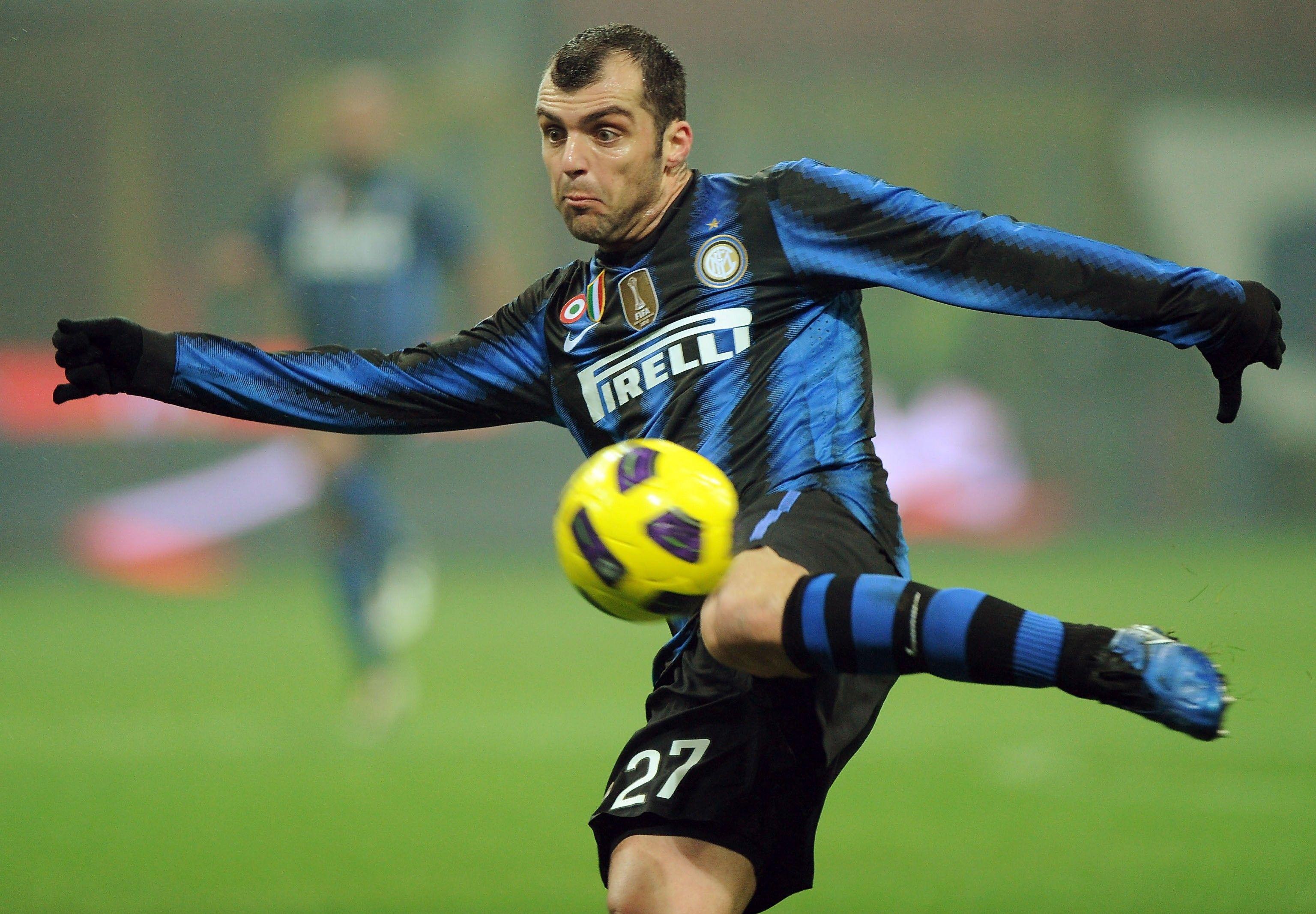Goran Pandev. Lazio to Inter Milan. | Inter milan, Goran pandev, Milan