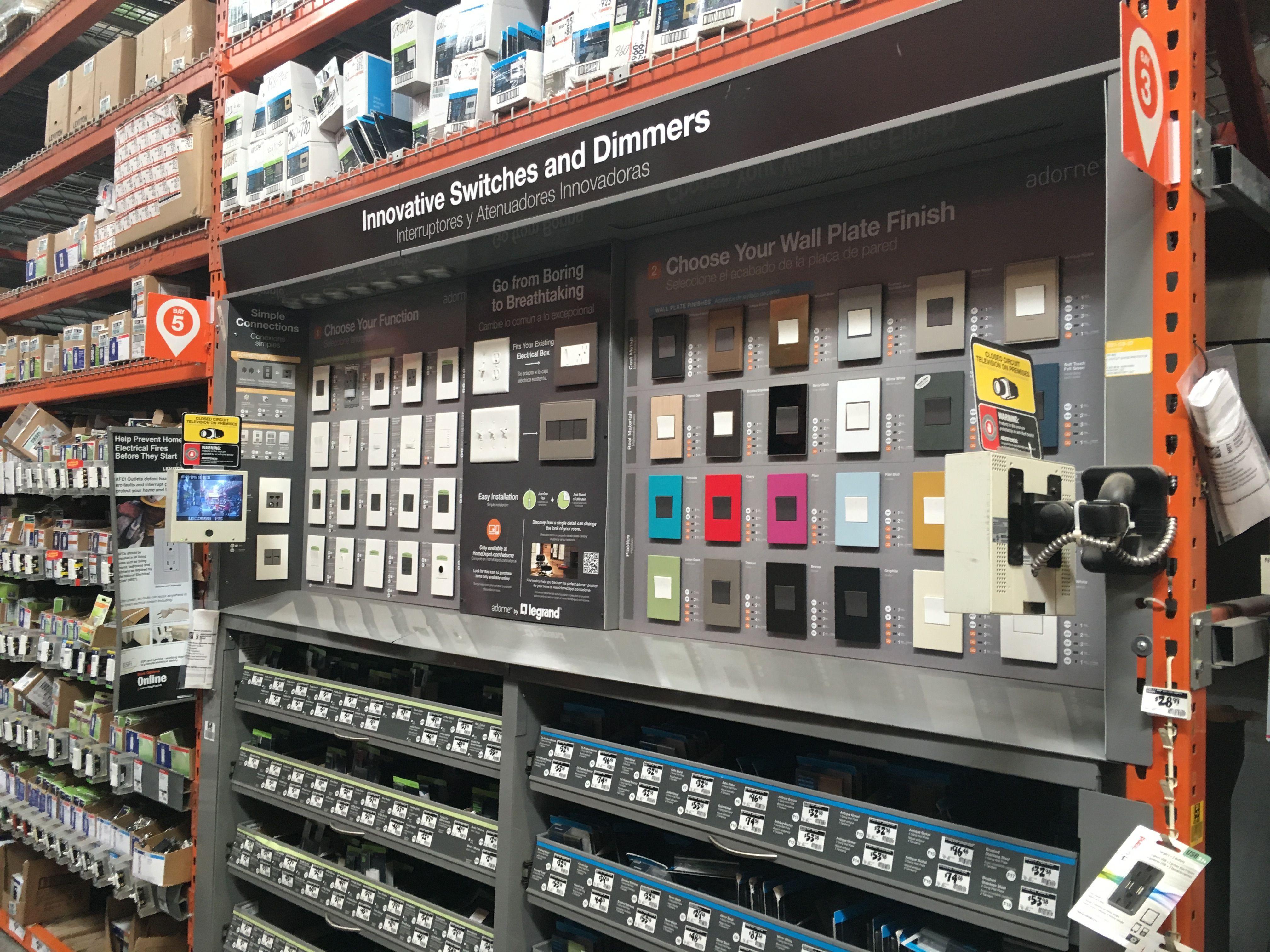 Legrand Adorne Line Home Depot Lighting Dept Smart