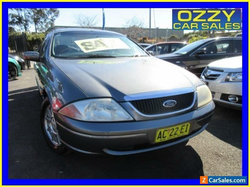 2000 Ford Fairmont Auii Ghia 75th Anniversary Grey