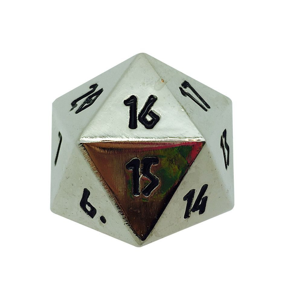 Polyhedral Metal D20 45mm Dice Gnomish Copper Norse Foundry Rpg Pathfinder Accessories Toys Hobbies Norse foundry is raising funds for legacy of mana: blumen boswirth