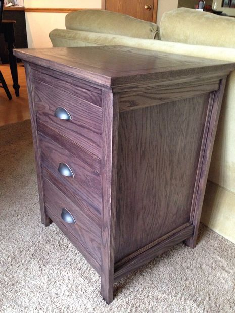 Night Stand With Locking Secret Hidden Drawer Secret Compartment