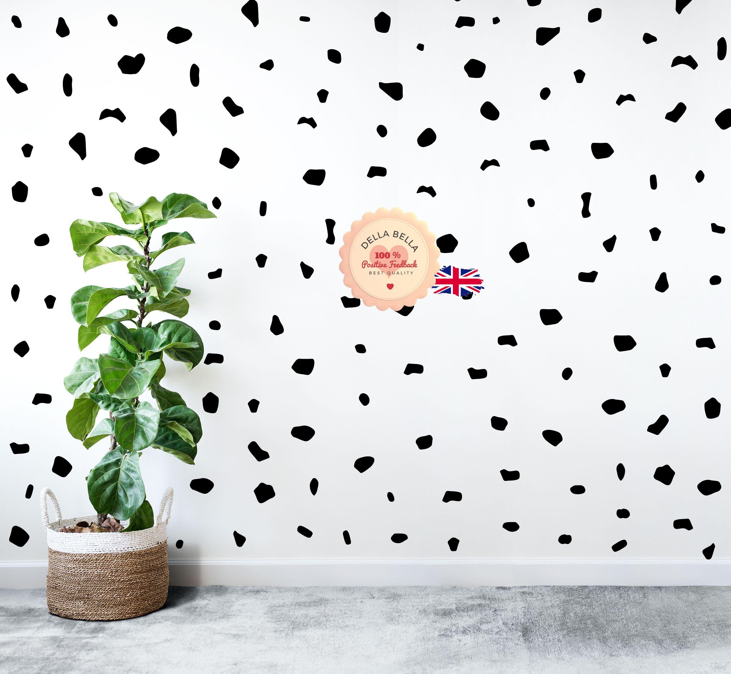 105 DALMATIAN DOTS wall decal stickers Dot Print Bedroom interior decal art